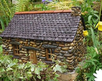 Fairy House for the Garden ~  'The Welsh Cottage'