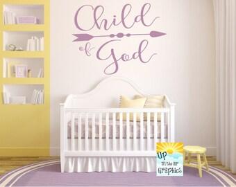 Child of God #2 Vinyl Wall Art