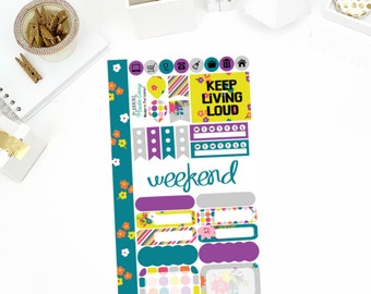 Modern Personal Weekly Kit! Perfect for your Erin Condren Life Planner, calendar, Paper Plum, Filofax!