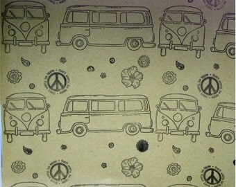 Campervan Wrapping Paper/gift wrap