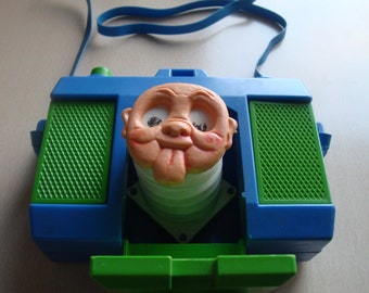 1970s Vintage Plastic Camera Toy For kids Made In Italy