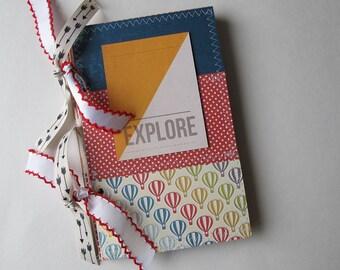 Instax travel mini album, premade scrapbook mini album - Instagram Instax mini album