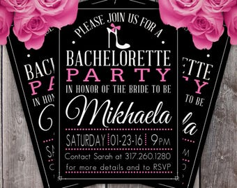 Bachelorette Party Invitation (Design #2)