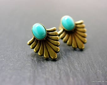 Art deco Renaissance earrings
