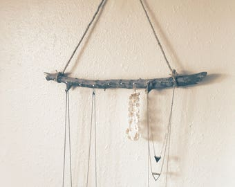 Branch Necklace Wall Hanging | Necklace storage