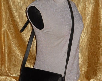 Genuine vintage Nina Ricci bag - canvas and genuine leather