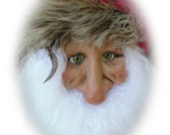 Featured listing image: Santa Ornament - EQ, a Lil Darlin Original