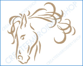Horse - 5X7 Embroidery Design