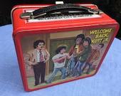 Welcome Back Kotter vintage metal lunch box