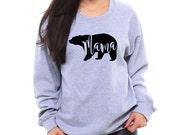 Mama Bear Sweatshirt, Mama Bear Shirt, Gifts for Mom, Mama Shirt, Mama Bear, Gift for Wife, Mom Shirt, Cozy Sweatshirt, Mom Christmas Gift