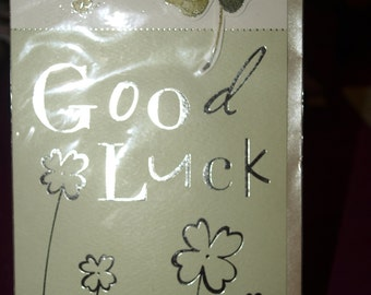 To Wish You Good Luck Card