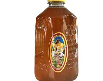 Wildflower Honey Pure Natural Raw Honey HERSHEY'S HONEY 100% 3 lbs.