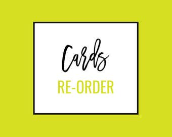 Business Cards Re-Order