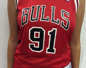Chicago Bulls #21 Rodman Jersey L 14-16