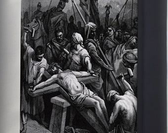 Canvas 24x36; Crucifixion Of Jesus 1866 By Gustave Doré