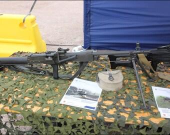 16x24 Poster; 7,62 Kvkk 62 Machine Gun Helsinki 2012 1
