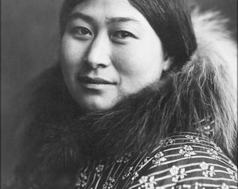16x24 Poster; Inuit Woman 1907