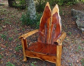 Large Rustic Cedar Chair