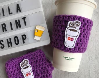To go cup  Coffee Cozy
