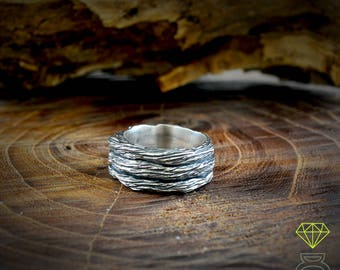 Tree bark ring