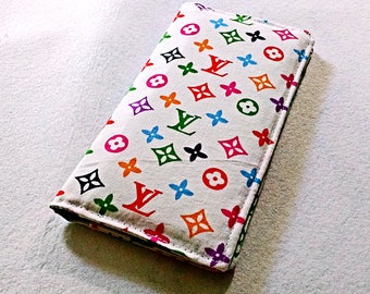 Louis Vuitton Inspired Checkbook Cover