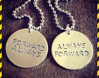 Luke Cage always forward necklace set