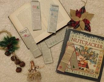 "Newspaper ""Christmas"" Bookmarks"