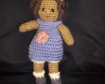 Ginny Doll - Dress Me Up Doll - Lavender Dress