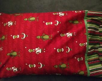 Christmas Pillowcase - Grinch