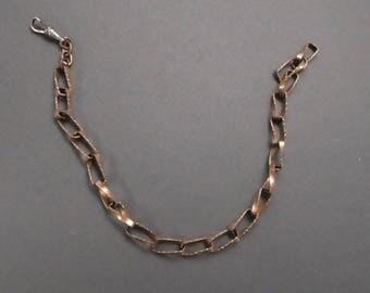 """Brass Watch Chain  11"""""""
