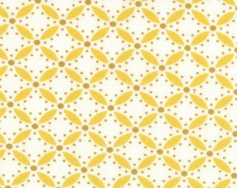 Moda's Simply Style Yellow Print Fabric - 10816-16