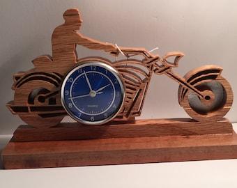 Biker clock