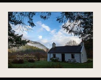 Landscape Photography, Mounted Photograph, Fine Art Photography,Glen Hurich, Loch Doilet, Scottish Highlands, UK
