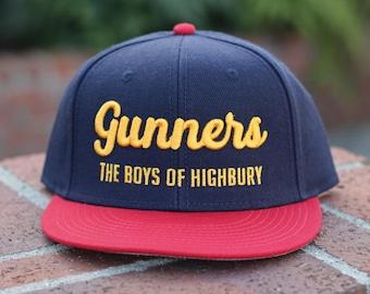 Arsenal FC Snapback Hat Gunners The Boys of Highbury - Premier League