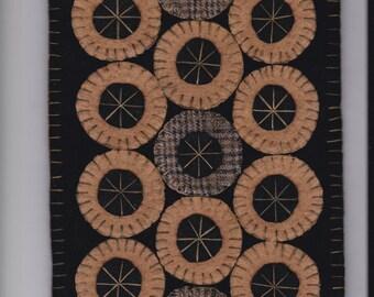 Candle Mat - E Pattern #166