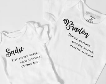Meet (Name) definition Onesie and Toddler shirts