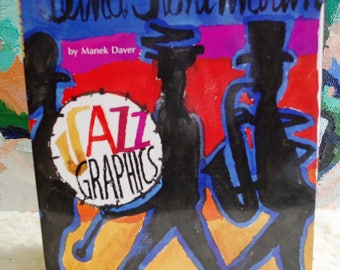 Jazz Graphics by Manek Daver with Dust Jacket