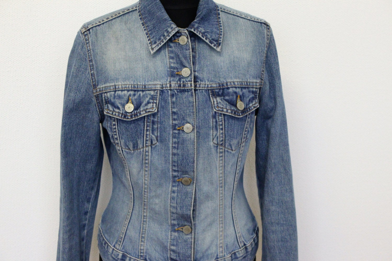 Womens Fitted Denim Jacket