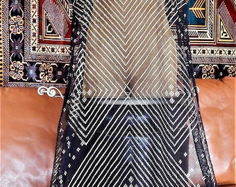 Assuit, Shawl, Wrap, Gold Patina, MINT, Belly Dance, Tribal, Fusion, Egyptian Revival