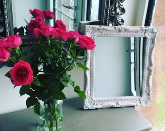NEW Pink Ornate Wall Mirror - Annie Sloan Antoinette