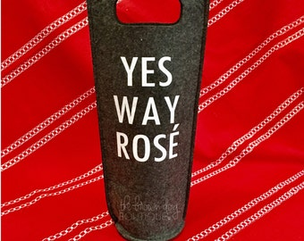 Wine Bag, Wine Gift Bag, Funny Wine Bag