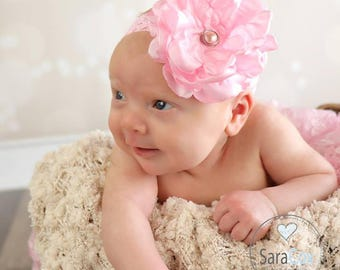 Riley Flower Headband Photo Prop
