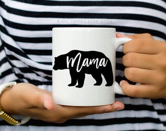 Mama Bear Mug | Jehovah's Witness Gift  | JW | Pioneer Gift | Cup | I love Coffee | Elder's | Gift | Baptism | Present | Jw Org