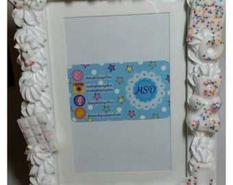 5x7 Fairy Kei Sweets Deco Kawaii Decor Picture Frame