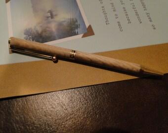 Hickory Slimline Pen