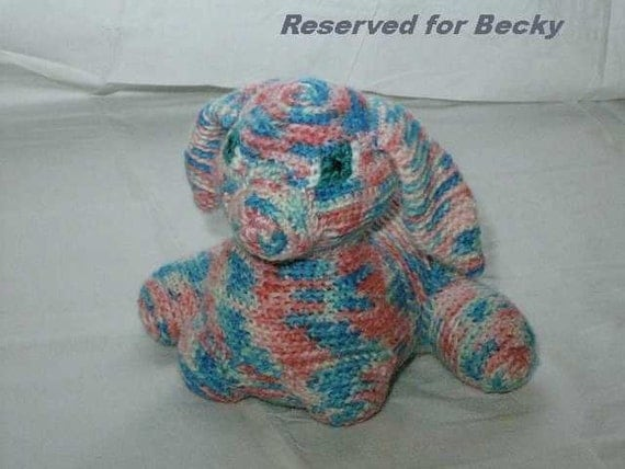 Reserved for Becky Myers-Settle