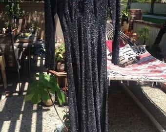 70s GLITTER DRESS