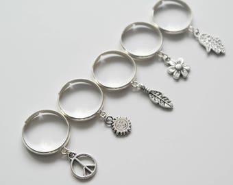 Charmed rings