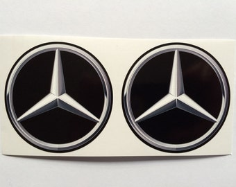 2 Mercedes Benz Decals
