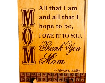 Gift to my Sweet Mama,Thank You Mom Gift, Mom Appreciation Keepsake Gift, Son to Mom Gift, Daughter to Mom Gift, Gift to my Mother. PLM015